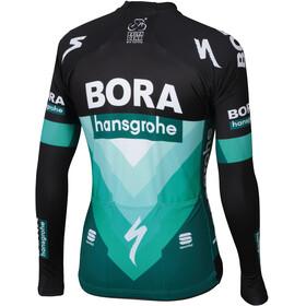 Sportful Team Bora-HG Bodyfit Pro Thermal Fietsshirt lange mouwen Heren groen/zwart